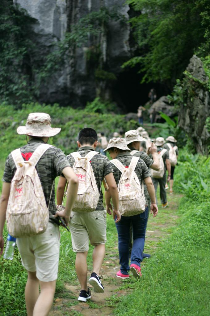 2017 YAKEDA management team outdoor development & two days a night tour
