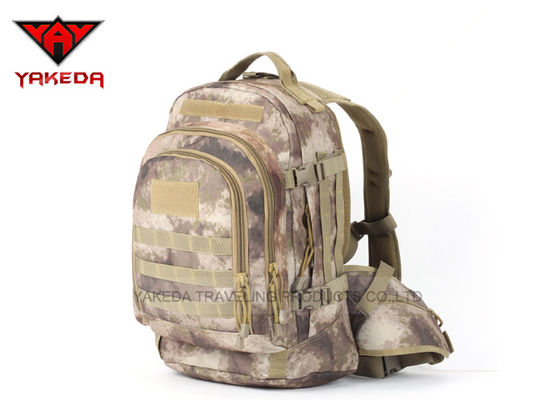 600D Waterproof Polyester Tactical Military Backpack for Man FCC SGS