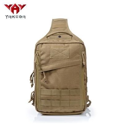 चीन Outdoor Small Tactical Sling Pack for Handgun With Multiple Zippered Pockets आपूर्तिकर्ता